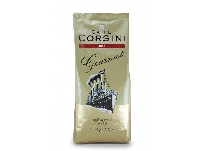 CORSINI Gourmet zrnková káva 1kg