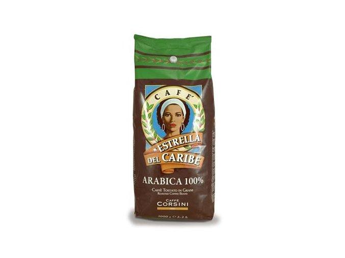 CORSINI Estrella Del Caribe zrnková káva 1kg