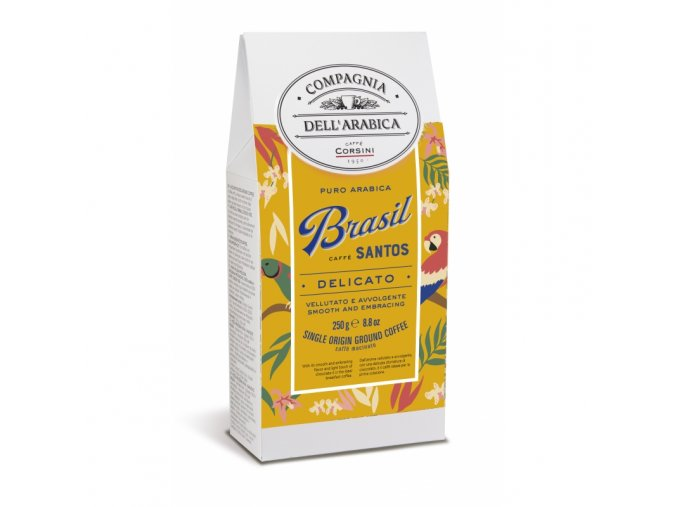 cafe brasil santos 250 g compagnia dell arabica