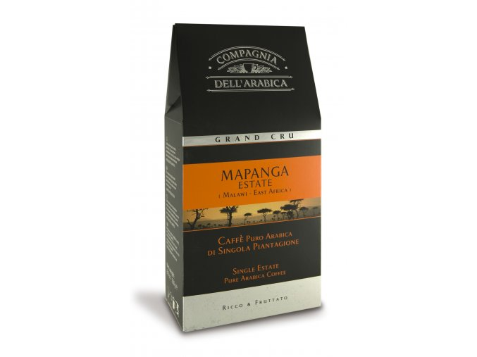 COMPAGNIA Dell ARABICA Mapanga Malawi Eastate Africa mletá káva 250g