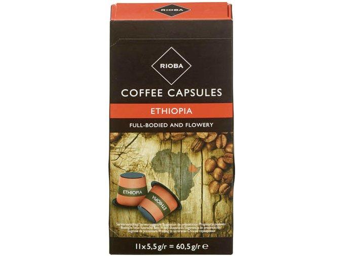 Rioba kapsule Ethiopia pre Nespresso 11x5,5g