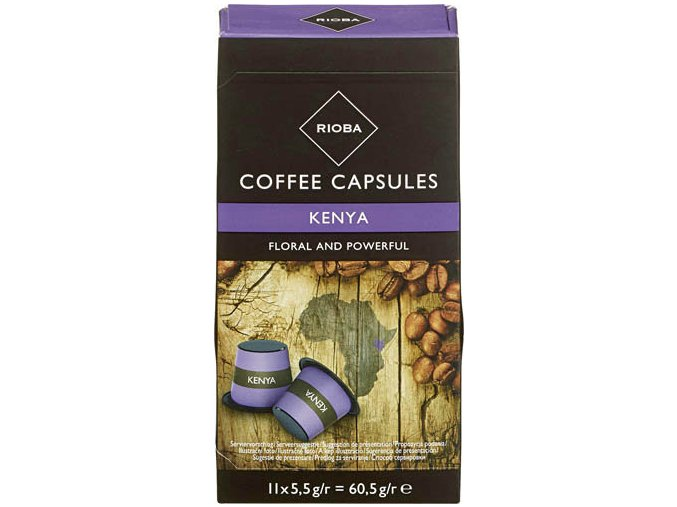 Rioba kapsule KENYA pre Nespresso 11x5,5g