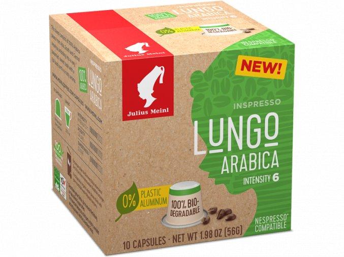 JULIUS MEINL Inspresso Lungo Arabica pre Nespresso 10x5,6g biologicky rozlozitelne