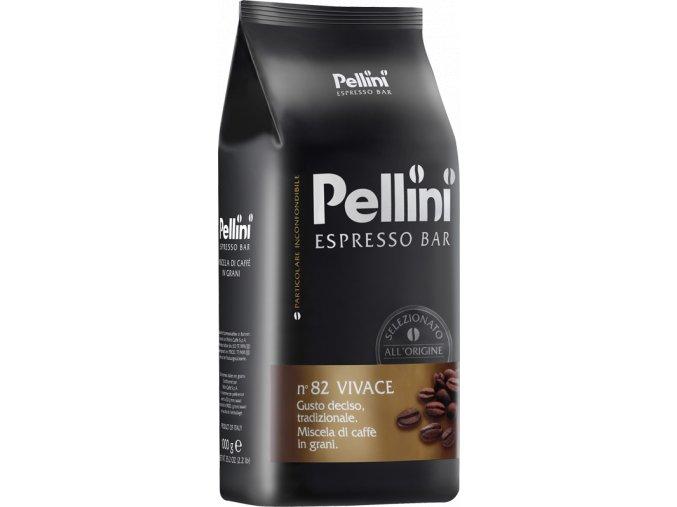 Pellini Espresso Bar n°82 Vivace zrnková káva 1kg