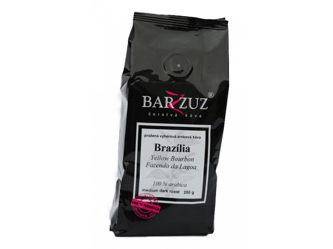 BARZZUZ Brazília Santos zrnková káva 250g