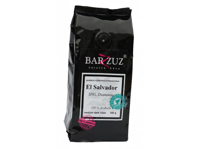 BARZZUZ El Salvador, SHg , zrnková 250g