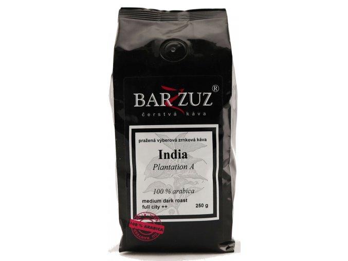 BARZZUZ India zrnková káva 250g