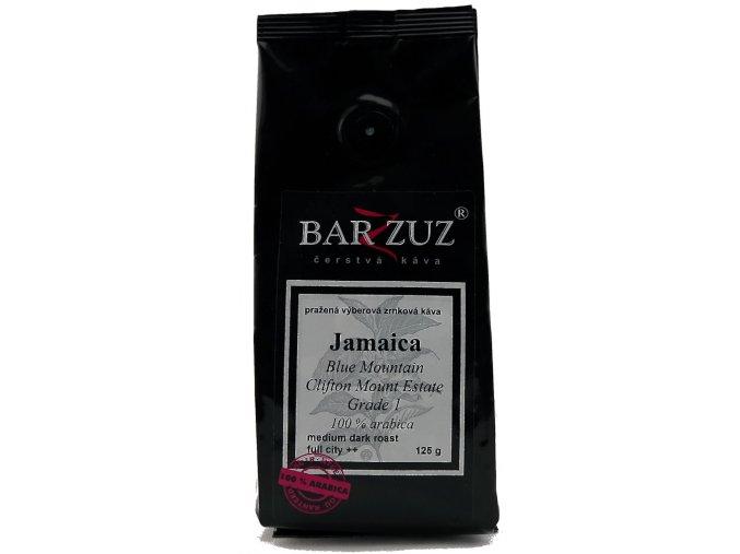 BARZZUZ Jamajka Blue Mountain zrnková káva 125g