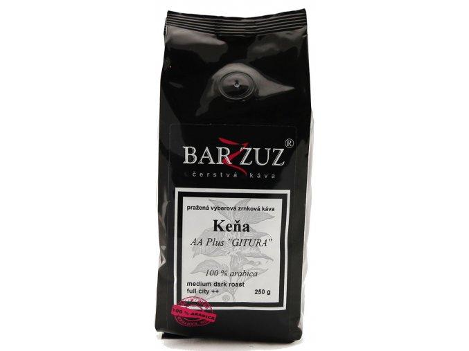 BARZZUZ Keňa AA, zrnková 250g