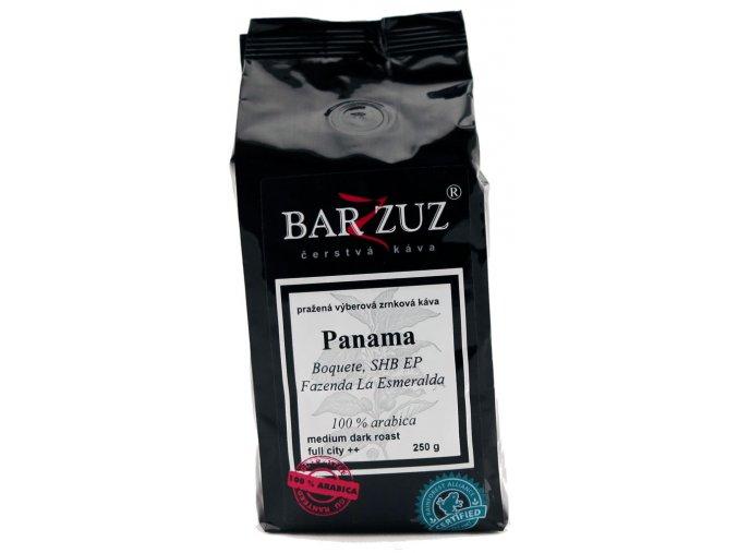 BARZZUZ Panama SHB zrnková káva 250g