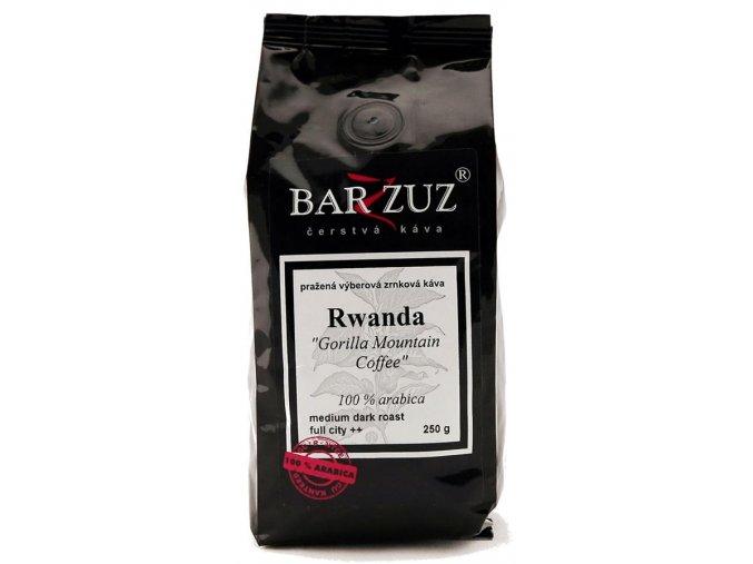 BARZZUZ Rwanda zrnková káva 250g
