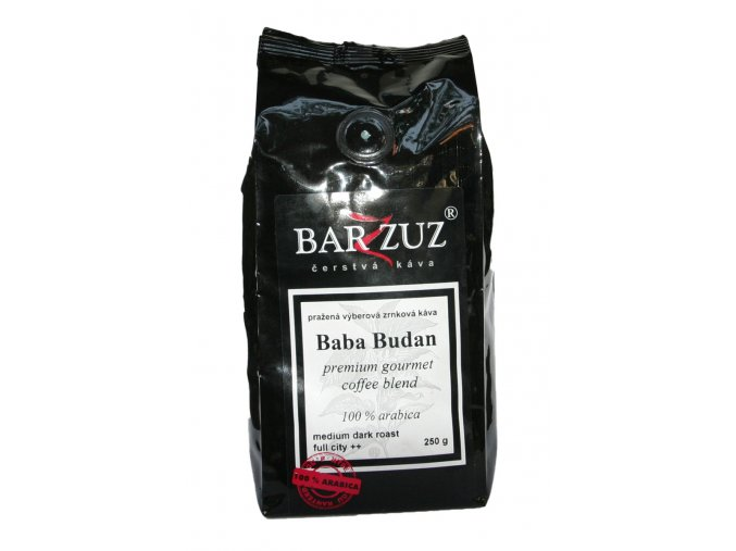 BARZZUZ Baba Budan, zrnková 250g