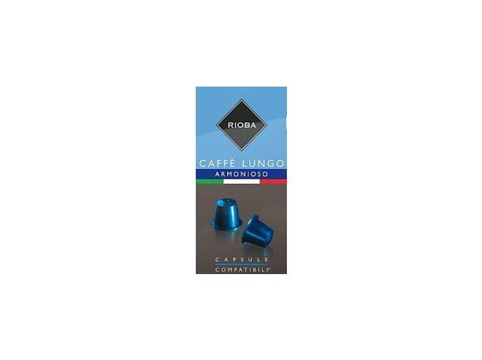 RIOBA kapsule ARMONIOSO Lungo pre Nespresso 11x5,5g