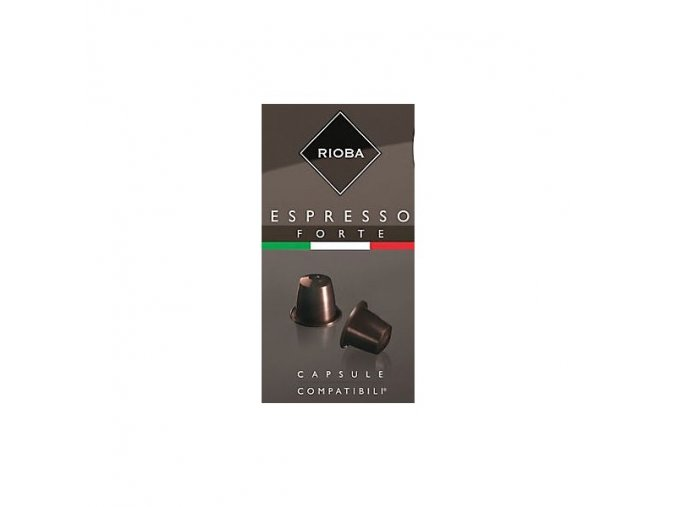 RIOBA Espresso Forte 10x5g