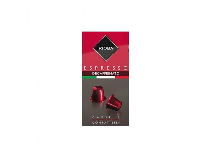 RIOBA Espresso Decaffeinato 10x5g