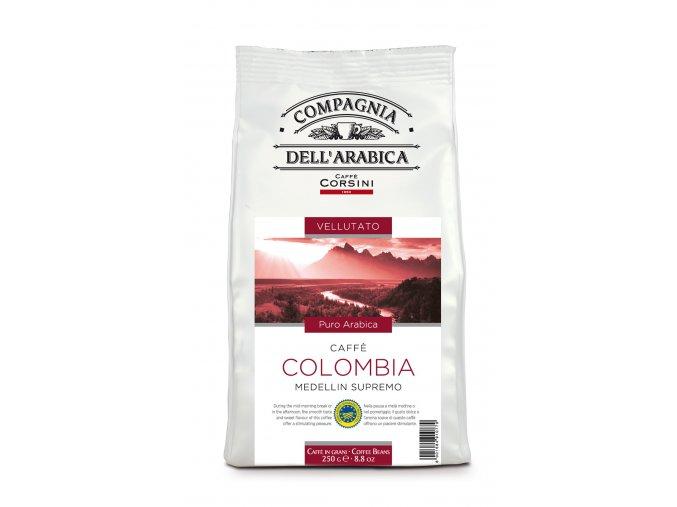 COMPAGNIA DELL ARABICA Colombia Medellin Supremo zrnková káva 250g
