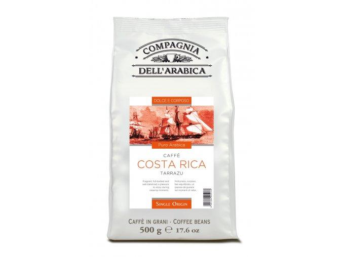 COMPAGNIA DELL ARABICA Costa Rica Tarrazu zrnková káva 500g