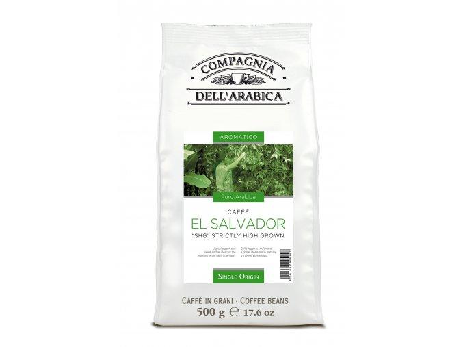 COMPAGNIA DELL ARABICA El Salvador SHG zrnková káva 500g