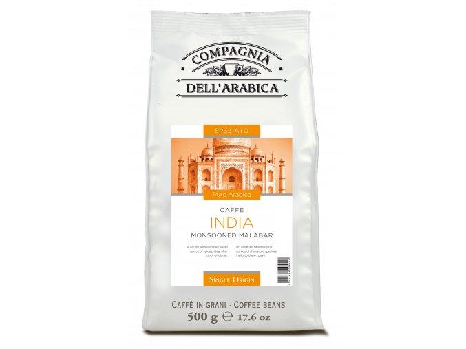 COMPAGNIA DELL ARABICA India Monsooned Malabar zrnková káva 500g