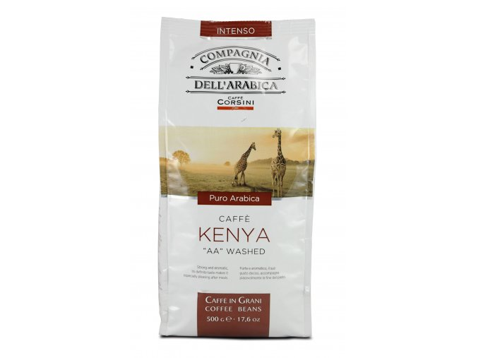 COMPAGNIA dell ARABICA Kenya AA Washed zrnková káva 500g