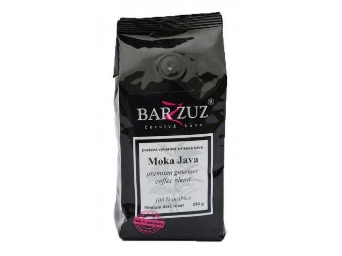 BARZZUZ Moka Java Blend zrnková káva 250g