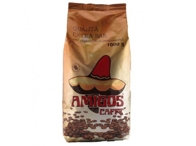 AMIGOS Qualita Extra Bar Gold zrnková káva 1kg