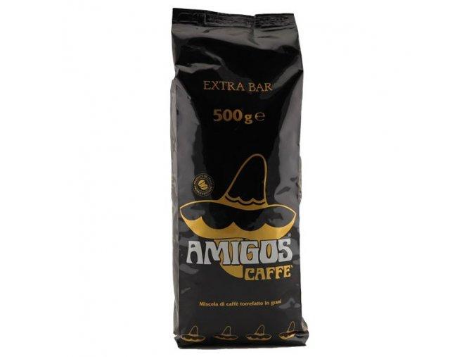 AMIGOS Qualita Extra Bar zrnková káva 500g