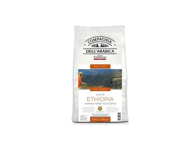 COMPAGNIA Dell ARABICA Ethiopia Harenna zrnková káva 500g