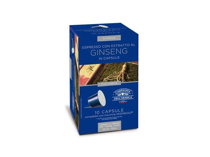 COMPAGNIA DELL ARABICA Ginseng 10x5,2g
