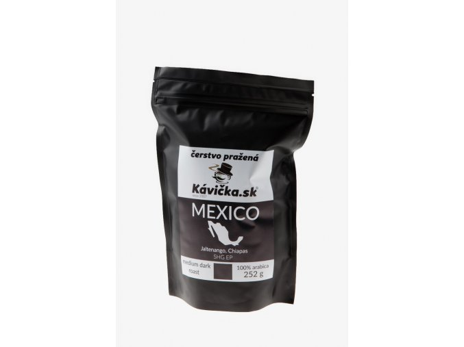 čerstvo pražená káva 250g Mexico