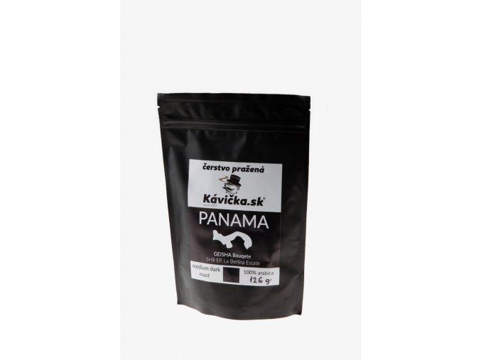 čerstvo pražená káva 125g Panama