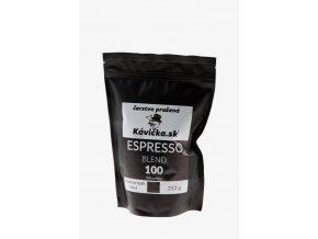čerstvo pražená káva 250g Espresso Blend 100