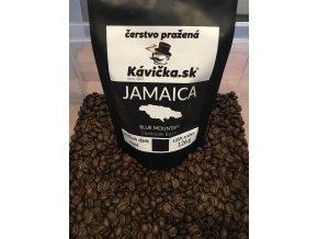 Kávička Jamaica Blue Mountain zrnková káva 125 g