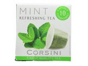 CORSINI čaj Mint 10x3g