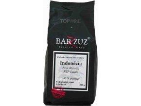 BARZZUZ Indonézia Java Blawan zrnková káva 250g