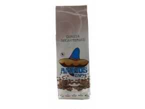 AMIGOS Decaffeinato zrnková káva 250g