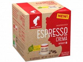 JULIUS MEINL Inspresso Espresso Crema pre Nespresso 10x5,6g biologicky rozlozitelne
