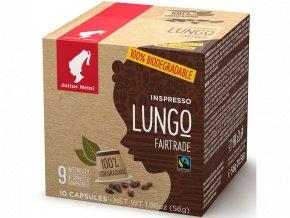 JULIUS MEINL Inspresso Lungo Fairtrade pre Nespresso 10x5,6g biologicky rozlozitelne