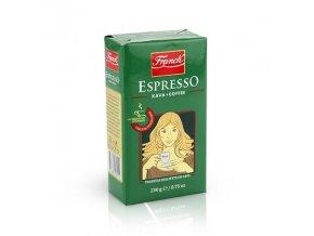 FRANCK Espresso mletá káva 250g