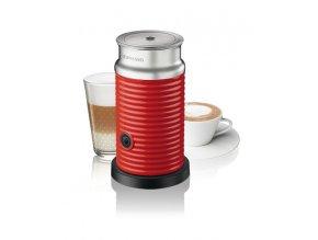Nespresso Aeroccino (napeňovač) červený