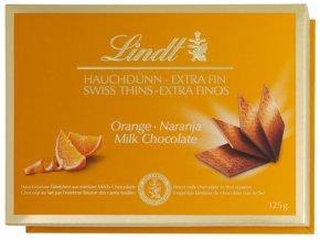 Lindt čokoláda pomaranč 125 g
