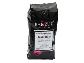 BARZZUZ Kolumbia Supremo zrnková káva 250g