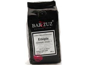 BARZZUZ Etiópia Djimmah Grade 5 zrnková káva 250g