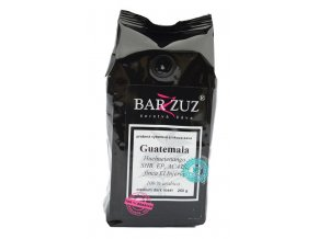BARZZUZ Guatemala SHB El Jaguar zrnková káva 250g