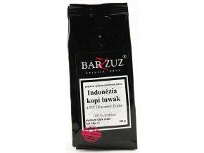 BARZZUZ Indonézia - Kopi Luwak, zrnková 125g