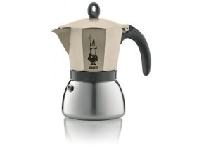 BIALETTI Moka Induction Light Gold 3 porcie