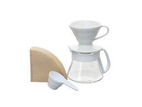 HARIO V60 Dripper Coffee and Pot