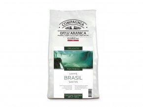 COMPAGNIA DELL ARABICA Brasil Santos zrnková káva 250g