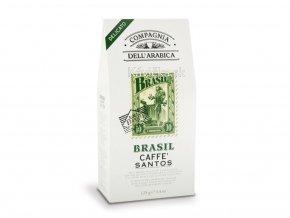 COMPAGNIA DELL ARABICA Brasil Santos mletá káva 125g