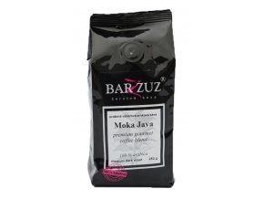 BARZZUZ Moka Java Blend, zrnková 250g